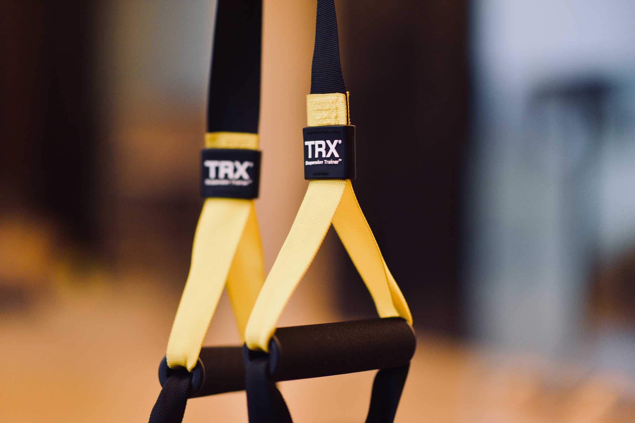 Le TRX un entrainement au poids de corps